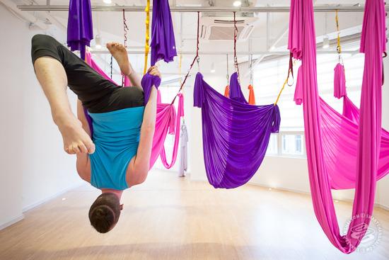 Self Help Aerial Yoga Smartshanghai