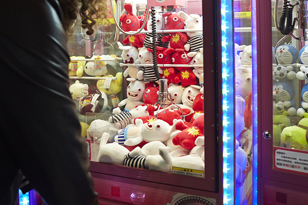 disney claw machine