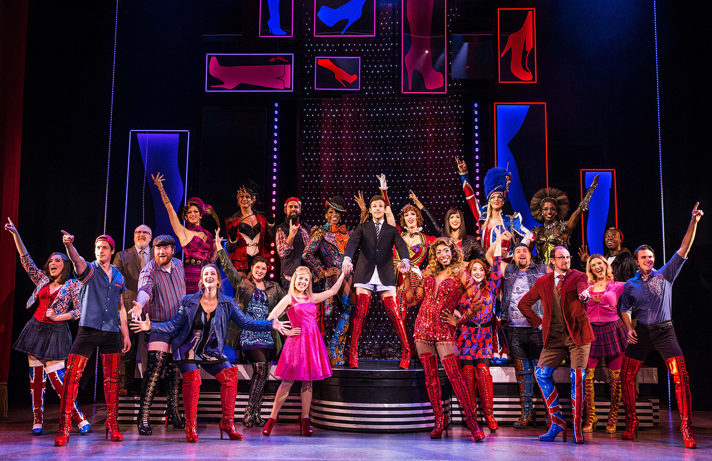 2306af0f777 Stage Review: 'Kinky Boots', A High Energy Musical in High Heels ...