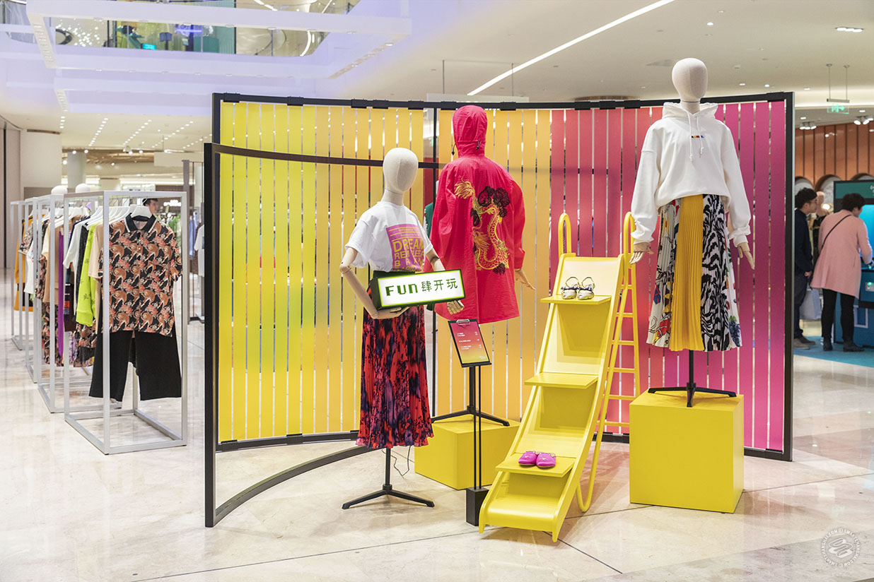 New Department Store Galeries Lafayette Teases Shanghai With Bold