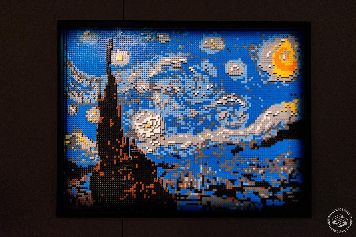 Art of the Brick Shanghai