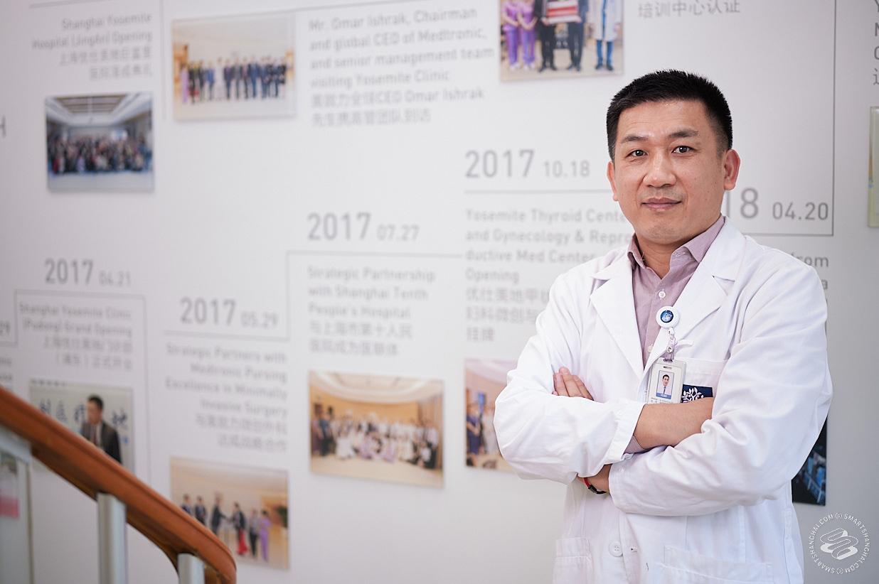 Dr Song window Shanghai