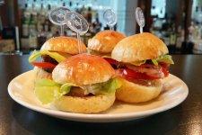 Shanghai's New Free Steak Sandwiches Happy Hour
