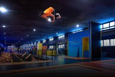 [Offbeat]: High Jinks And High Jumps At This Massive Trampoline Park