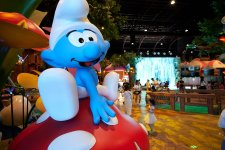 We  Made It Out To This Smurf Park. So How Weird Is It?