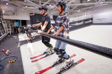 Skiing in a Mall is Really Popular These Days. So We Did It.