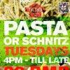 Pasta or Schnitz Tuesday  on SmartShanghai