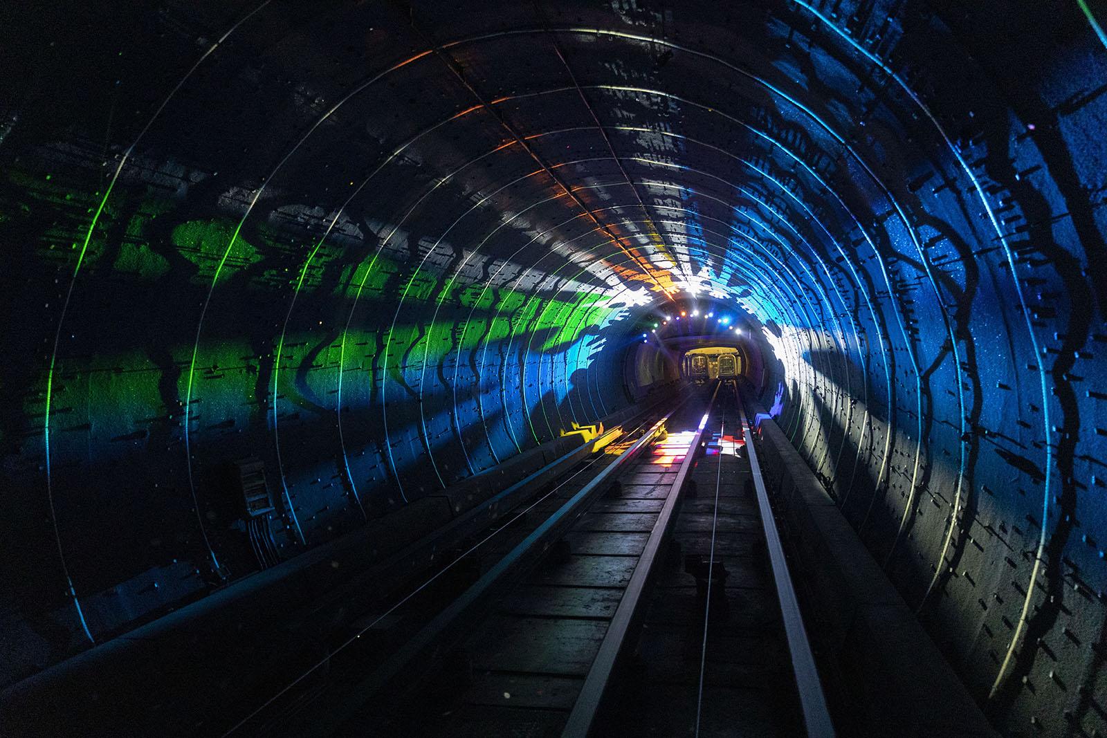 Bund Sightseeing Tunnel Shanghai