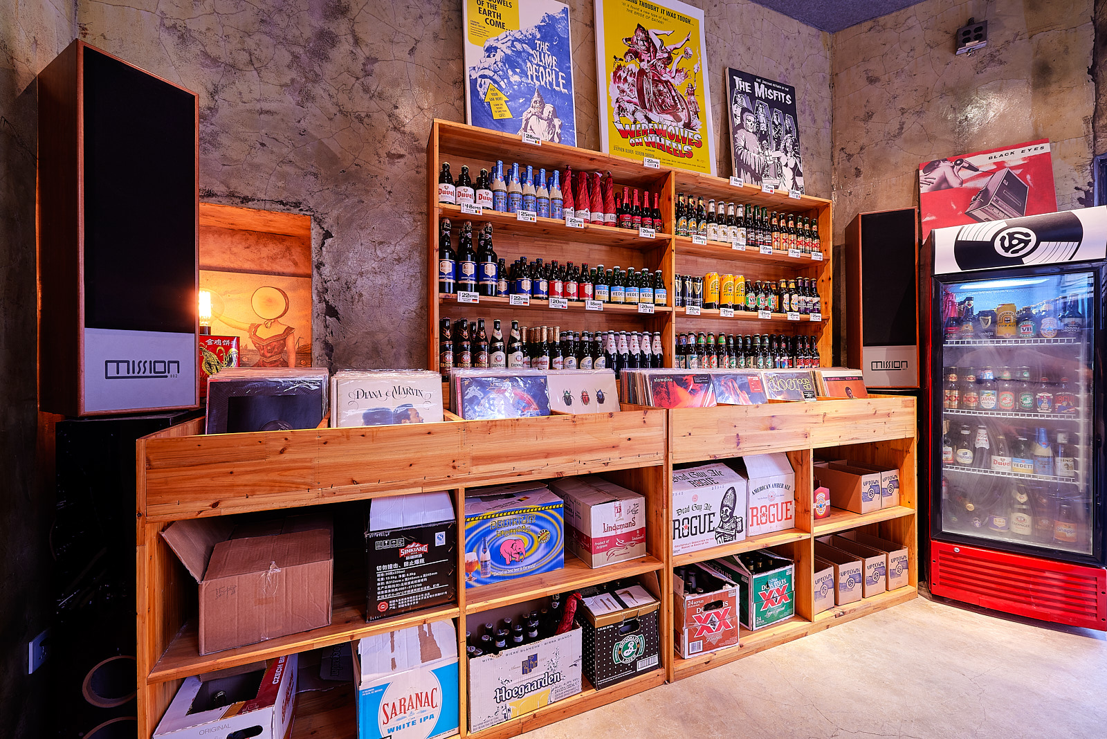 Uptown Records n' Beer Shanghai