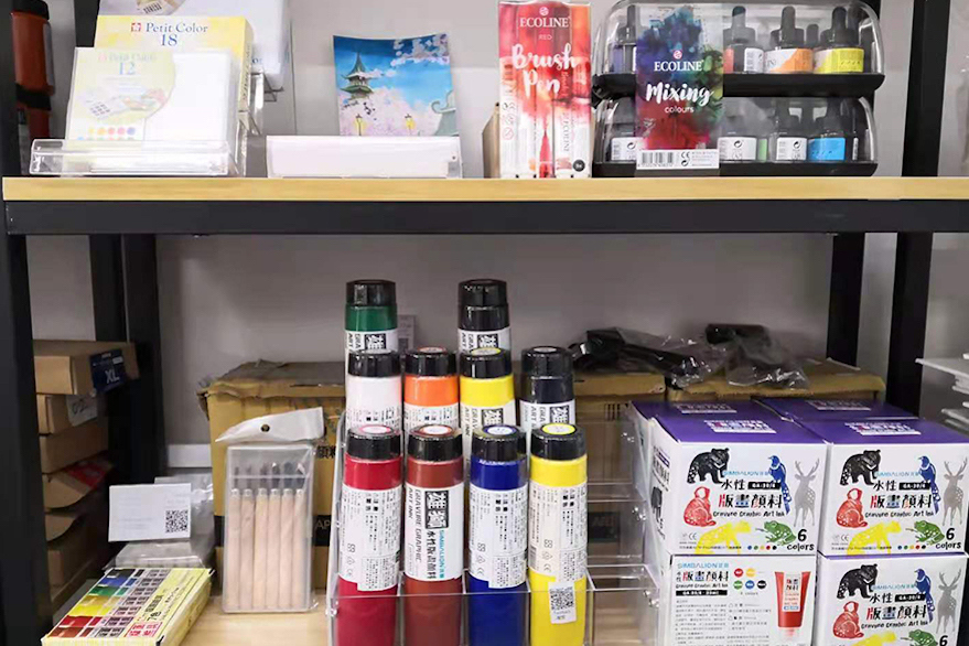 Civillita Art Supplies and Studio Space Shanghai